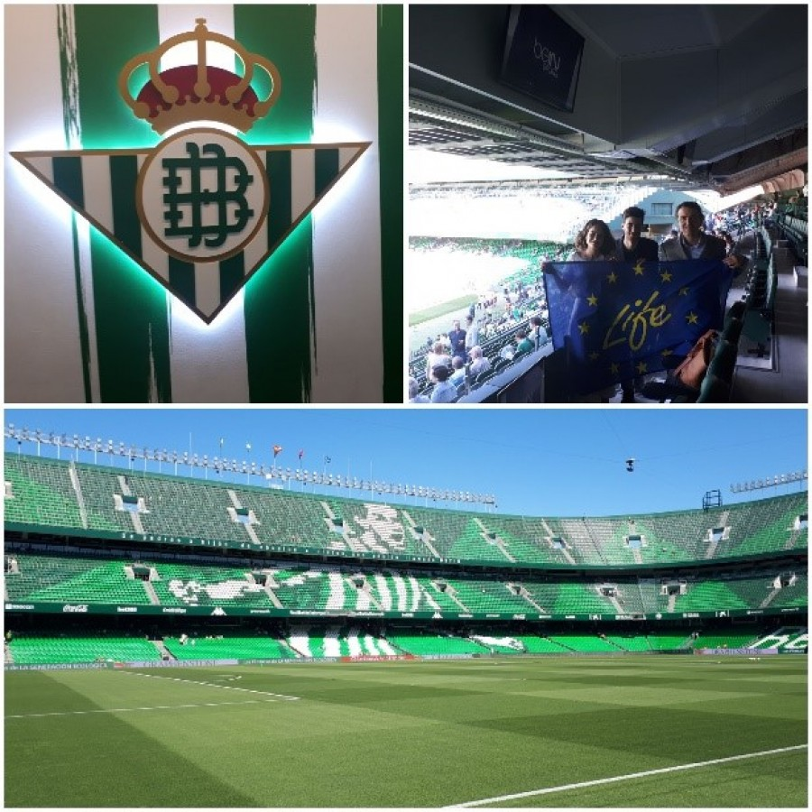 REAL BETIS BALOMPIÉ, a new ally of the LIFE TACKLE project